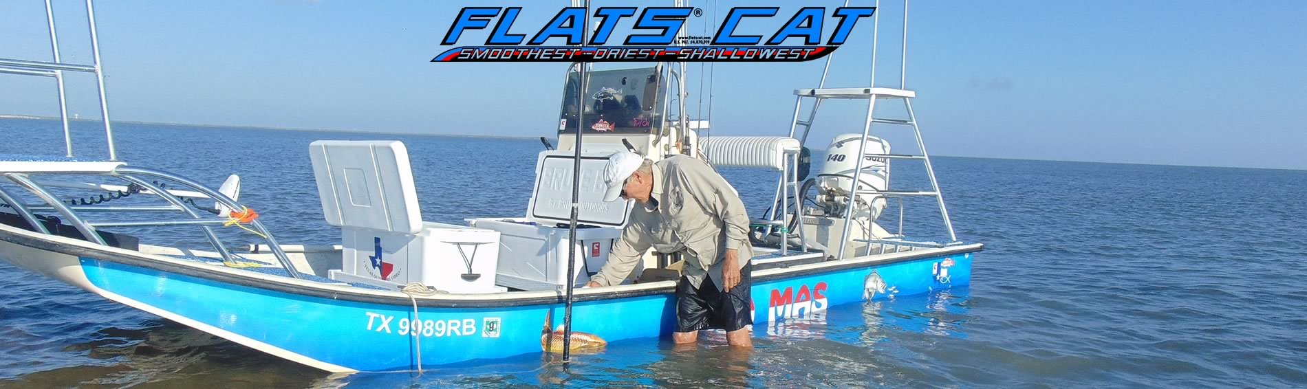 Flats Cat Shallow Draft Boats